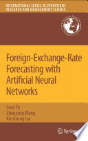 Foreign Exchange Rate Forecasting with Artificial Neural Networks