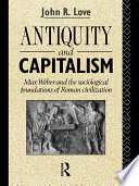 Antiquity and Capitalism