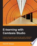E learning with Camtasia Studio