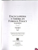 Encyclopedia of American foreign policy