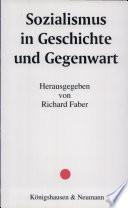 Sozialismus in Geschichte und Gegenwart