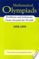 Mathematical Olympiads 1998 1999