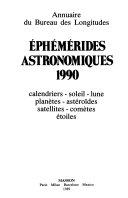 Eph  m  rides astronomiques 1990