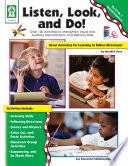 Listen  Look  and Do   Grades PK   1