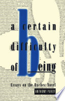 Certain Difficulty of Being