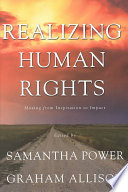 Realizing Human Rights Scholars Review The Effects Of