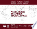Multilingual Thesaurus of Geosciences