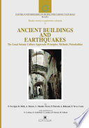 Ancient Buildings and Earthquakes   the Local Seismic Culture Approach   Principles  Methods  Potentialities