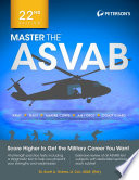 Master the ASVAB  22nd Edition