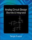 Analog Circuit Design  Discrete   Integrated