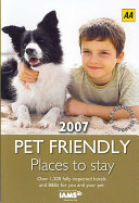 download ebook aa pet friendly places to stay 2007 pdf epub