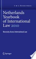 Netherlands Yearbook of International Law Volume 41  2010