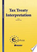 Tax Treaty Interpretation