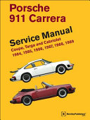 Porsche 911 Carrera Service Manual 1984 1985 1986 1987 1988 1989