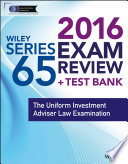 Wiley Series 65 Exam Review 2016   Test Bank
