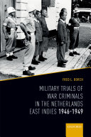 War Crimes Trials in the Netherlands East Indies