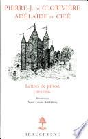 Lettres de prison, 1804-1806