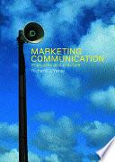 Marketing Communication book