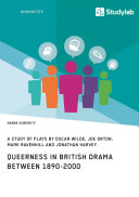 download ebook queerness in british drama between 1890-2000 pdf epub