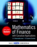 Mathematics Of Finance With Canadian Applications Update