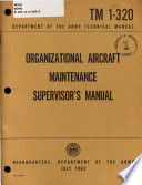 Organizational Aircraft Maintenance