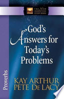 God s Answers for Today s Problems