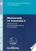 Mechatronik im Automobil II