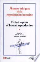 Aspects   thiques de la reproduction humaine