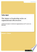 The Impact of Leadership Styles on Organizational Effectiveness