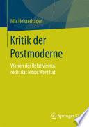 Kritik der Postmoderne