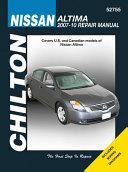 Chilton Nissan Altima 2007 10 Repair Manual