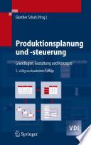 Produktionsplanung und  steuerung