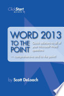 word-2013-to-the-point
