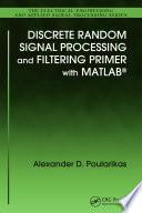 r andom signals and processes primer with matlab dolecek gordana jovanovic