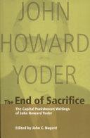 The End of Sacrifice