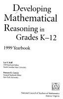 Developing mathematical reasoning in grades K 12