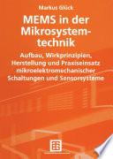 MEMS in der Mikrosystemtechnik