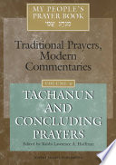 My People s Prayer Book  Tachanun and concluding prayers