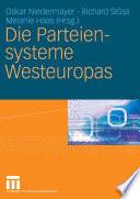 Die Parteiensysteme Westeuropas