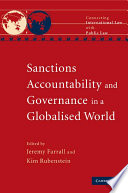Sanctions  Accountability and Governance in a Globalised World
