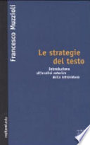 Le strategie del testo