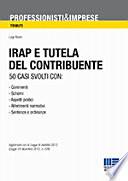 IRAP e tutela    del contribuente