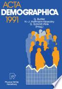 Acta Demographica 1991