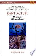 illustration Kant actuel