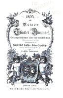 Neuer Theater-Almanach