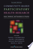 Community Based Participatory Health Research Second Edition book