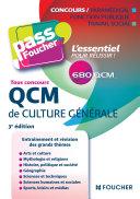 Pass Foucher   QCM de culture g  n  rale Tous concours 3e   dition