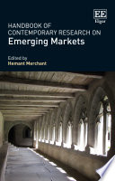 Handbook of Contemporary Research on Emerging Markets