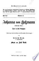 Johanna von Gussmann (sicilianische Vesper) Oper in 5 Aufz. Aus dem Ital. ins Deutsche übertragen von Heinrich Proch