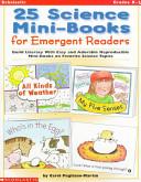 Twenty five Science Mini books for Emergent Readers